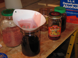 bloodwood color extraction