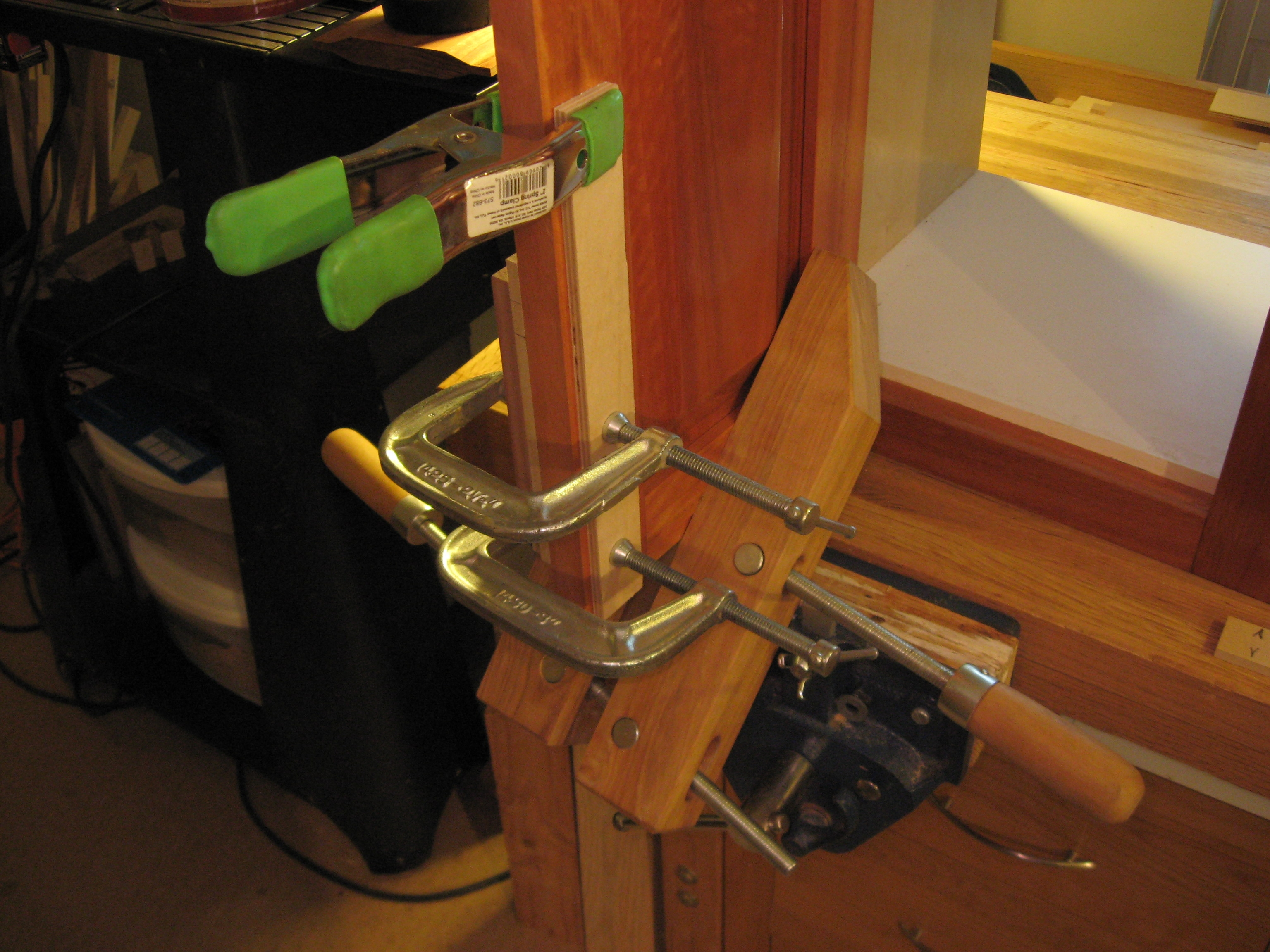 Using a jig makes installing cabinet hardware easy Helping With Homes