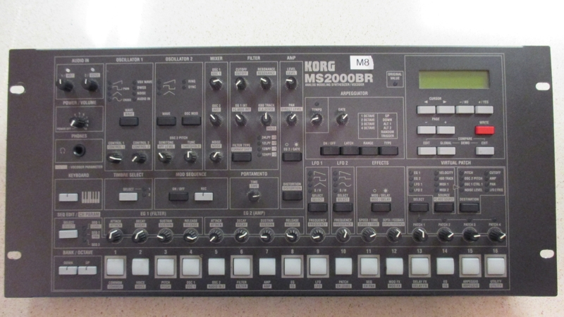 Korg MS2000BR synthesizer