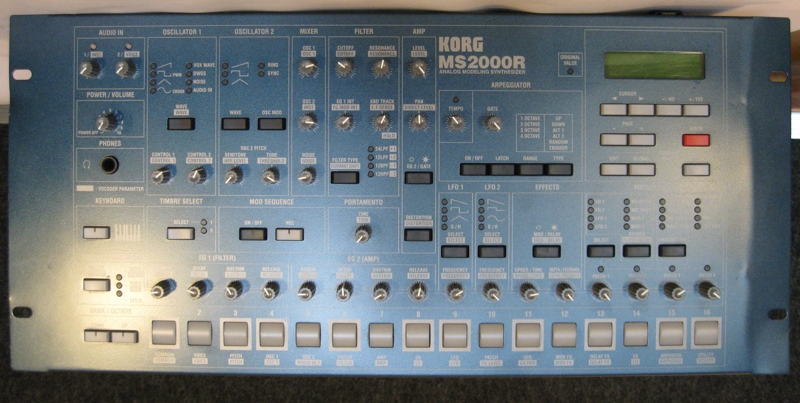 Korg MS2000R Front View