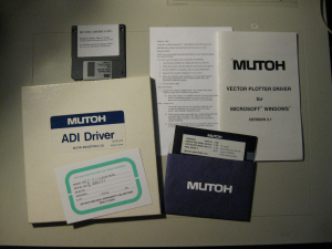 Original Mutoh Plotter Drivers