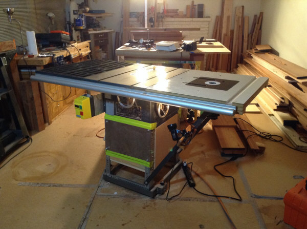 Table Saw Lubricated Top