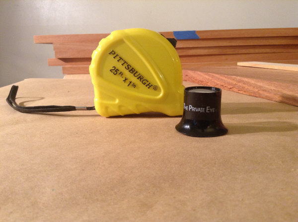 Tape Measure and Loupe