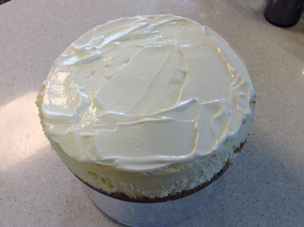 cheesecake sour cream icing