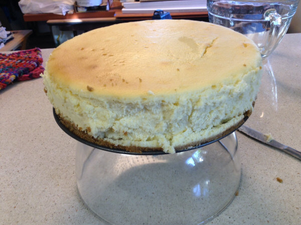 cheesecake cooling