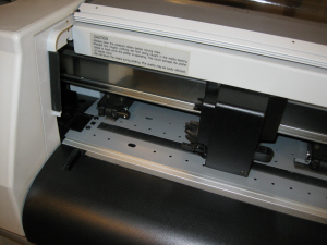 MUTOH PLOTTER INSIDE